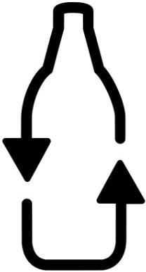 Logo Flasche